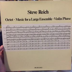 Steve Reichin kuuluisa ECM-levytys vuodelta 1980, tuottajana Manfred Eicher.