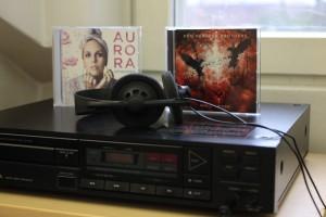 CD-soitin Forssan kirjastossa.