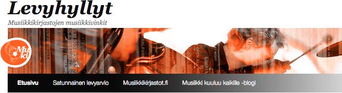 Musiikkivinkkien blogi Levyhyllyt avattiin alkuvuodesta 2015.