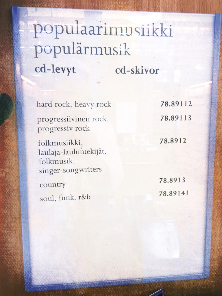 Turun musiikkikirjaston opastus ohjaa nykyisin myös kohti progea. Uusi progressivisen rockin luokka otettiin käyttöön Turun pääkirjastossa kesäkuussa 2016.