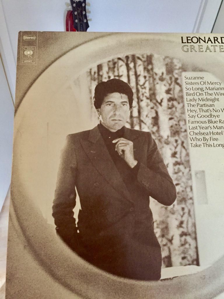 Leonard Cohenin kokoelma-albumi Greatest Hits vuodelta 1975.